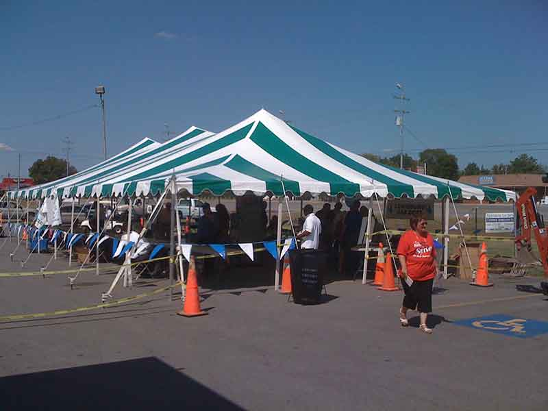 Party Tents in Central TN | Action Tents
